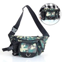 Fishing Accessories Multifunctional Tackle Bags Single Shoulder Crossbody Bag Waist Pack Fish Lures Gear Utility Storage Bagpack