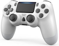 Game Controller for PS-4 1000mAh Wireless Controller for PS-4PS-4 Slim PS-4 Pro Console with Share Button Ergonomic Design Vibration Function