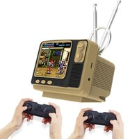 Portable Game Players Retro Video TV Console With Time Clock Function And 2.4G Double Wireless Controller Built-in 108 Games For PS1 N64
