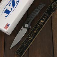 Green Thorn, 0707 Титановый сплав складной нож D2 лезвие, углеродное волокно + титановая 3D-ручка, наружный фруктовый складной нож EDC Tool