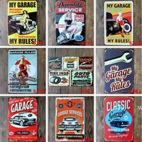 Custom Metal Tin Signs Sinclair Motor Oil Texaco poster home bar decor wall art pictures Vintage Garage Sign 20X30cm sea ship HWB6665