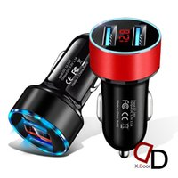 Dual USB Car Charger 3.1A Fast Charging for IPhone 12 13 X Huawei Xiaomi Phone-Charger Socket Power Adapter Auto Accessories