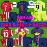 جواو فيليكس أطيليتيكو سواريز مدريد لكرة القدم الفانيلة 2021 2022 شاول camisetas 20 21 22 ليمانتي كوريا لكرة القدم قميص الرجال الاطفال عدة مجموعة موحدة