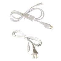 (Switch) Аксессуары освещения US Plug Power Power Choted Electlection с встроенным выключенным выключением, интегрированные светодиодные проволоки проволоки - белый