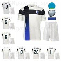 فنلندا 2021 2022 Soccer 10 Teemu Pukki Jerseys مجموعة 9 Fredrik Jensen Pyry Soiri Tim Sparv Juhani Ojala Joel Pohjanpalo كرة القدم