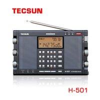 Tecsun H-501 Bluetooth portable Stéréo Stéréo Haute Performance Dual-haut-haut-haut-haut-haut-haut-haut-haut-haut-haut-haut-haut-haut-haut-haut-haut-parleur FM am SW SSB