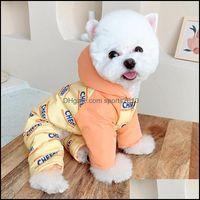 Pet Supplies Home & Gardenwinter Dog Jumpsuit Coat Jacket Puppy Small Costume Outfit Warm Clothes Yorkshire Pomeranian Poodle Schnauzer Clot