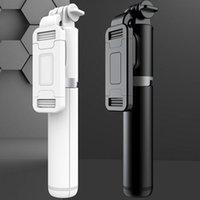 FGCLSY 101CM Беспроводной Bluetooth Selfie Stick Складной Штатив Расширяемый Monoopod с удаленным затвором Для Смартфона Действия Камеры 210420