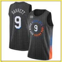 RJ 9 Barrett Julius 30 Randle Derrick 4 Rose Jersey Patrick 33 Ewing Basketball Trikots NeueYorkKnickelnStadttrikots