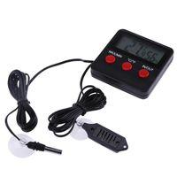 2021 Hygromètre de thermomètre électronique pour l'incubateur Reptile Monitor Testeur de température numérique et d'humidité