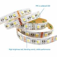 Şeritler Claite 5 M RGBW RGBWW 4 in 1 Çip SMD 300 LEDS Şerit Işık Su Geçirmez Kapalı Kullanım DC12V Ev Dekorasyon için Esnek