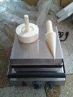 Electric Ice Cream Cone Maker Baking Machine Egg Roll Bread Makers
