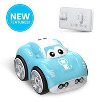 Мини милый автомобиль RC индуктивная игрушка для детей Детский Электрический пульт дистанционного управления автомобиль 25mins AOTU Следуйте трекому PATH RACING RC 210322
