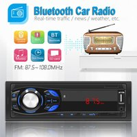 Handsfree Bluetooth Car Radio Stereo Wireless Digital Audio Music Player 12V Mp3 Speaker USB TF 3.5mm Jac