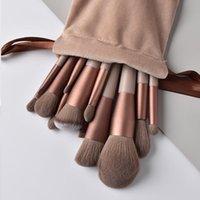 Makeup Brushes 8 10 13 Professional Brush Kit Colorful Eyeshadow Eyeliner Lips Blush Cosmetic Maquillage Drop