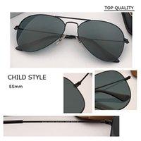 Designer Fashion Classic Mens Boy Girl 3024 Sunglass Driving Metal Frame Pilot 3025 Occhiali da sole Occhiali da sole Dimensioni dei bambini disponibili 55mm 58mm 62 mm