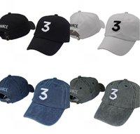 Chan.ce 3 F1 Rapper Baseball Cap Letter Embroidery Snapback Caps Men Women Hip Hop Hat Street Trucker Hats