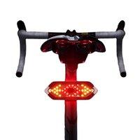 Dönüş sinyalleri ile Bisiklet Arka Lambamı, Kablosuz Uzaktan Kumanda Su Geçirmez Bisiklet Arka Lambası, LED Şarj Edilebilir Arka Bisiklet Tailligh