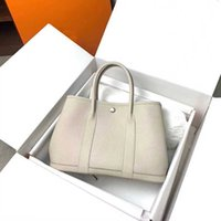 Luxury design bags garden party totes women 2021 larger size crossbody purse cowhide learther checker plaid with original box