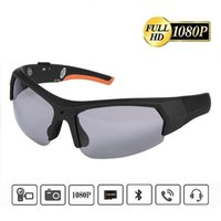 Sonnenbrille Bluetooth tragbare Sportkamera 1080p HD-Video-Recorder Glas-Headset für Outdoor-KletternTT8L