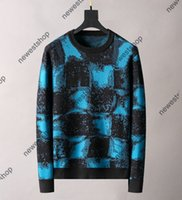 Paris mens women Geometry print Sweaters classical color letter printing Sweater casual high quality womens designer Sweatershirts