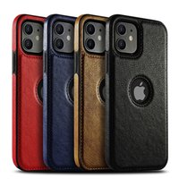 Business Leather Case Soft TPU Full Protection Cases For iPhone 12 Mini 11 Pro Max X Xr Xs Max 8 7 6S Plus