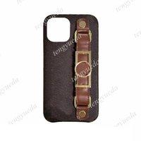 Mode Klassische Designer Telefon Hüllen für iPhone 12 11 Pro Max XS XR XSMAX 7 8 Plus Top Qualität Leder Armband Luxus Mobiltelefonabdeckung