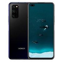 """الأصلي Huawei Honor V30 Pro 5G الهاتف الخليوي 8 جيجابايت RAM 128GB 256GB ROM Kirin 990 Octa Core Android 6.57 """"40.0mp Vestprint ID الهاتف المحمول"""