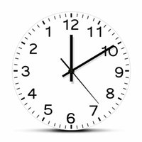 ساعات الحائط الحديثة تصميم الجولة إلى الوراء هادئة ساعة الاجتياح ساعة anticlubh عقب عكس مكافحة ديكور المنزل الساعات