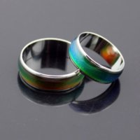2021 100pcs mix size mood ring changes color to your temperature reveal your inner emotion cheap fashion jewelry HJ164