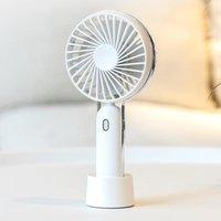 Electric Fans USB Handheld Small Fan Charging Portable Silent Desktop