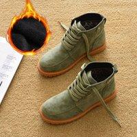 Boots Bota de nv fminina, bota da moda para mulhrs, sapatos outono invrno, sola grossa algodão com plúcia qunt fria, E80Y