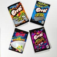 Errlli Gummi Yenilebilir Warheads Skittles Ambalaj 600 mg Çanta Ekşi TERP Tarayıcılar Koku Korumalı Boş Gummies Şeker Mylar Çanta Kuru Herb Çiçek Paketi Için