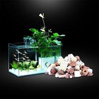 수족관 520g 필터 미디어 세라믹 바이오 링 박테리아 공 박테리아 집 생선 탱크 Y200922 용 화산 돌