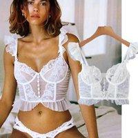 Women's Blouses & Shirts Withered Ins Fashion Blogger Vintage Sexy Short Spaghetti Strapless Blouse Women Blusas Mujer De Moda 2021 Shirt Ta