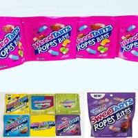 Ambalaj Weedtarts Çanta Halat Isırıklar Gummy Mylar Çanta Yemekleri Sweetarts Gummies Ambalaj Kılıfı Errlli Köpekbalıkları 500mg