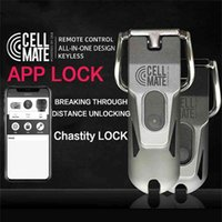 Qui Chastity Cage Cell Mate Mate Chat Chastity Lock SM App Control Chastity Device Король пениса для мужчин Силиконовые секс-игрушки для мужчин 210324