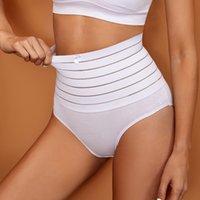 Sexy Women Thong Shaper High Waist Tummy Control Panties Slimming Underwear Waist Trainer Shaping Female Briefs Butt Lifter