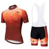 2021 Miloto Summer Cycling Jersey Ensemble Respirant Team Racing Sport Kits Bicyclette Hommes Courts Courts Vélos Vêtements M084
