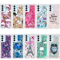 Liquid quicksand Phone Cases for Samsung Galaxy A50s A10 A20 A30 A40 A50 A505 A70 A80 A90 A10e A20e A01 A21 A51 A71 A10s A20s A30s A40s Painted Bling Glitter cover