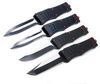A161 Red Devil Demon Double Acción Tactical AutoTF Cuchillo Bolsillo Plegable EDC Camping Knifes Cuchillos de caza Herramienta de bolsillo