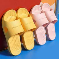 Slippers Women Flat Summer Beach Eva Soft Sole Slides Sandals Leisure Men Ladies Indoor Bathroom Anti-slip Deodorant Shoes