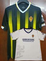 2021 2022 REAL ZARAGOZA Футбол Футбол Линарес Javi ROS 21 22 Домашняя Футбольная рубашка