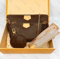 Sac de concepteur de Luxur originaux sacs à main originaux sacs à main Femmes Multi Pochette Accessoires Portefile Hommes Sac à main gratuits Sacs à bandoulière Célèbres Cuir véritable