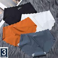 Lingerie panties Women Seamless Underwear Translucent Underpants Female Comfort Intimates Fashion Ladies Low-rise Briefs 3pcs set
