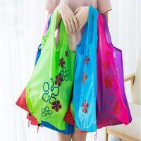 11 cores saco de armazenamento em casa tamanho grande reutilizável sacolas de compras portáteis bolsas convenientes zwl165