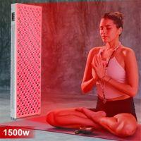 New 300W 500W 1000W 1500W 630nm 660nm Red Light Therapy 810nm 830nm 850nm Infrared LED Light Therapy Full Body, Red Grow Lights