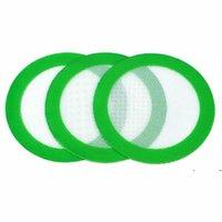 Estera de silicona Mats antiadherente Almohadillas para hornear Pads de mesa de fibra redonda para fumar PIPE FWF7513