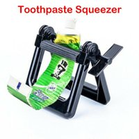 Toothbrush Holders Toothpaste Squeezer Plastic Tooth Paste Tube 11.5x10.5x7.5cm Manual Dental Cream Dispenser Gadget Bathroom Accessories