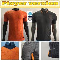2021 Player Versionneterlands Home Soccer Jerseys Memphis Jong Holland De Ligt Strootman Van Dijk Virgil Football Shirt